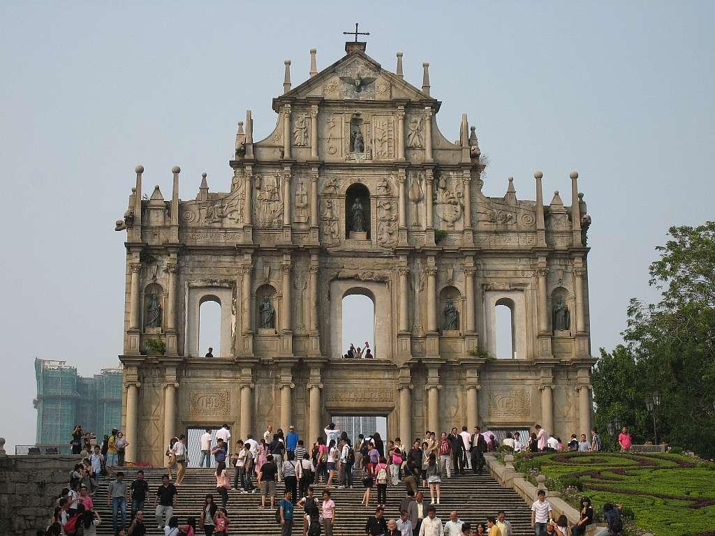 Ruins of St. Paul's GC