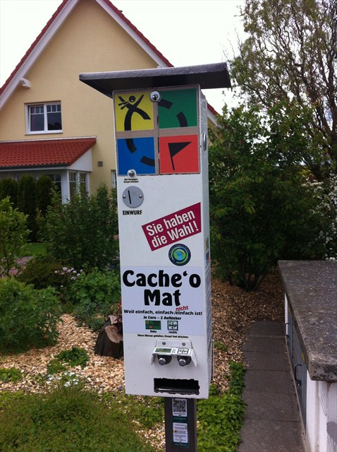 Cache 'o Mat (GC1A11C) – GEOCACHE OF THE WEEK – January 24, 2013
