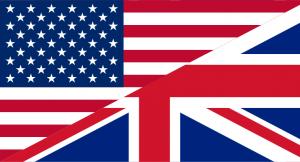 English language flag