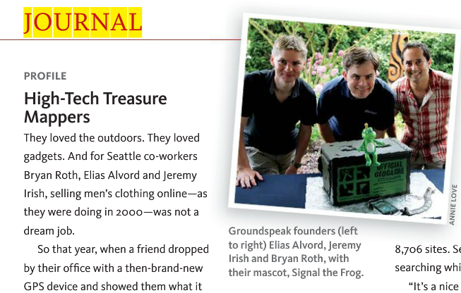 Geocaching in the News – A Story Worth Telling