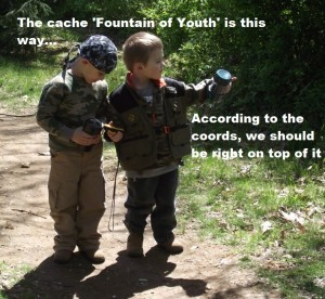 kids geocaching 2