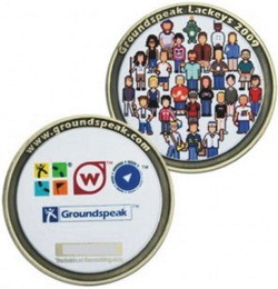 One of the Geocoin lost in the burglary