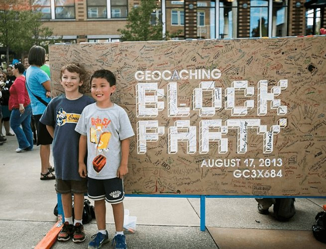 Click the image to see more than 450 pictures from The Geocaching Block Party 2013