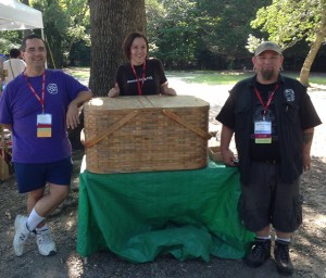 Fun with a Side of Mega-Event Geocaching