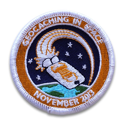 New Limited-Edition Geocaching in Space Mission Patch