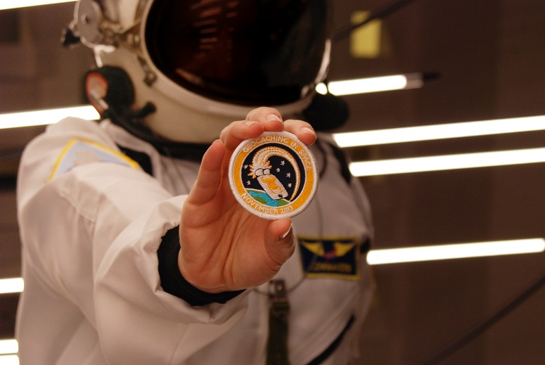 Geocaching in Space Patch
