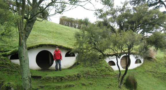 Hobbit holes! Photo by geocacher Sinbadsfriends