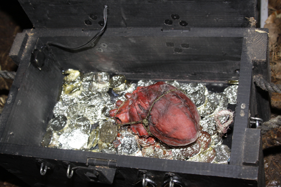 There it is! Davey Jones' heart! Photo courtesy of DeepdiverBerlin