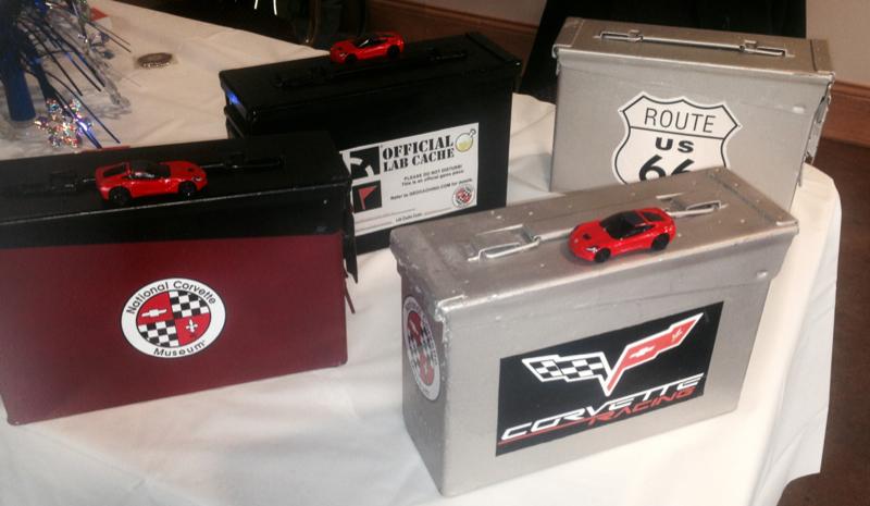 Corvette Lab Caches.