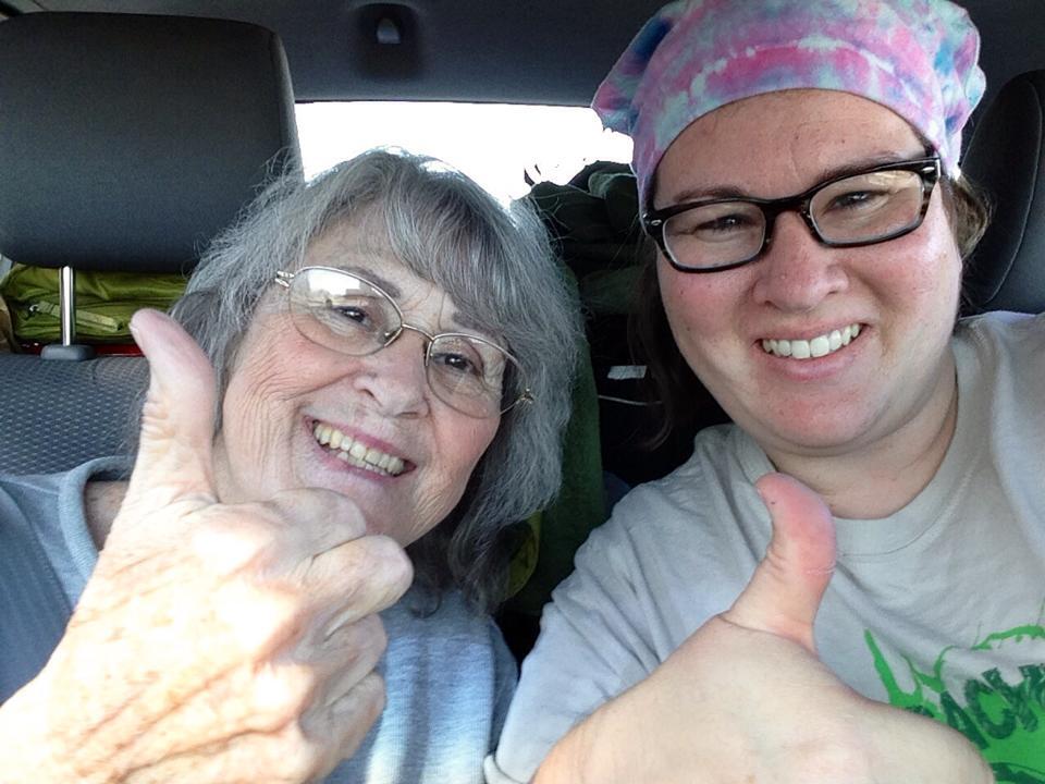 """Guwisti and mom"" Geocaching Through the Fog of Alzheimer's"