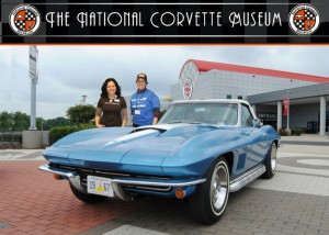 Unfortunately MissJenn couldn't bring this Corvette back with her to Geocaching HQ.