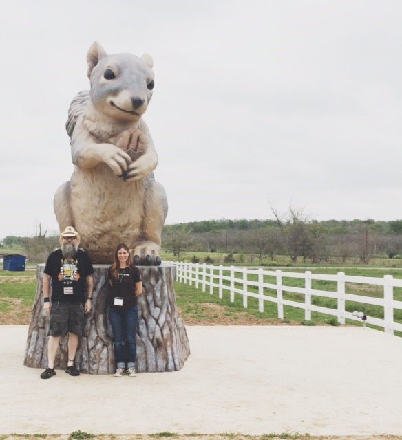 A Texas Sized Mega-Event (and Squirrel)… in Texas