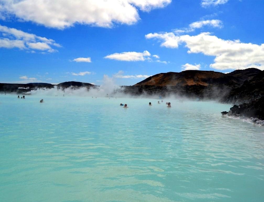 Bláa lónið - Blue lagoon - Blaue Lagunem, Iceland GC25643