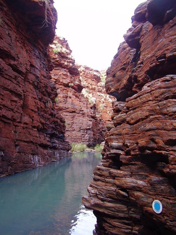 Kooling off in Karijini, Australia GC4CNMG