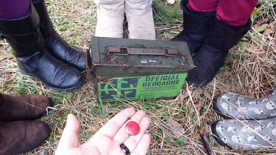 Muddy Boots and Geocaching
