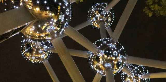 """Here you'll find GC1EG4C, also known as """"Atomium""""."""