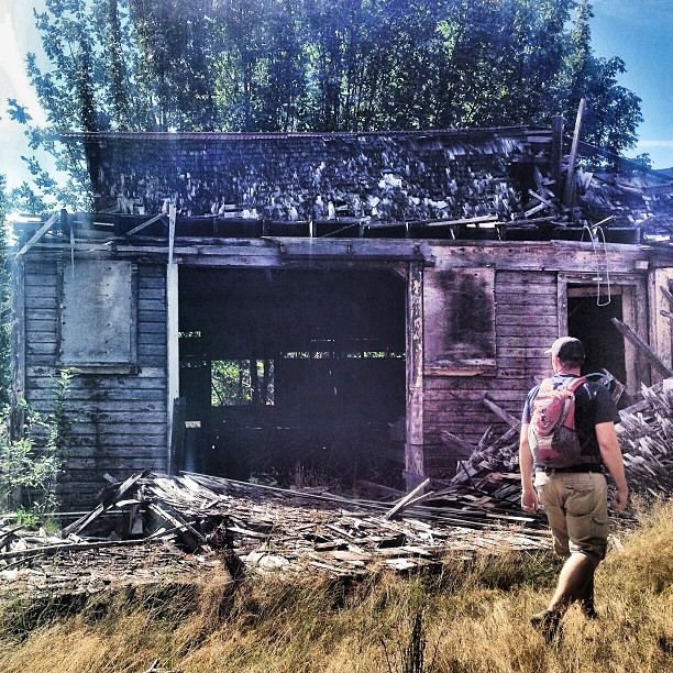 8-21-2013 Sometimes #geocaching takes you to forgotten places and shadows of the past. #31in31 #ilovegeocaching
