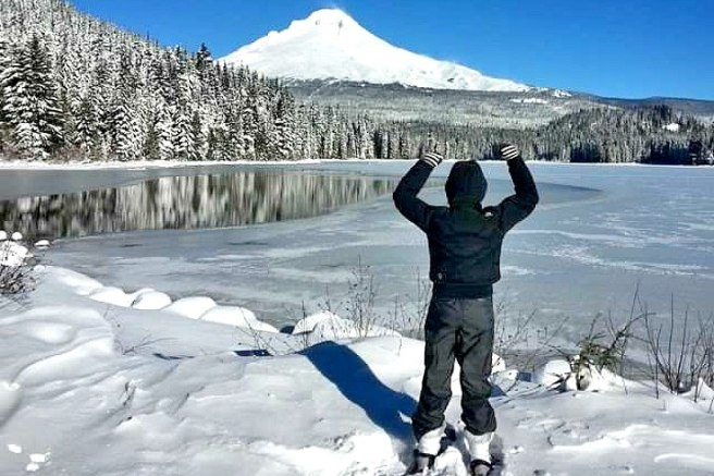 Make sure you have the right Tools of the Trade (like snowshoes) for the environment