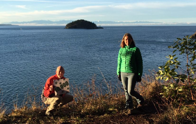 Washington State Parks GeoTour (10,000th find at Deception Pass)