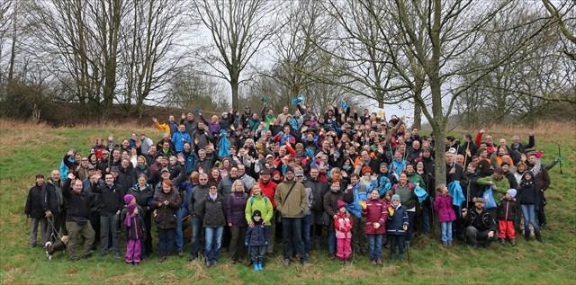 Germany's Frühjahrsputz am Kemnader See 2015 CITO group photo