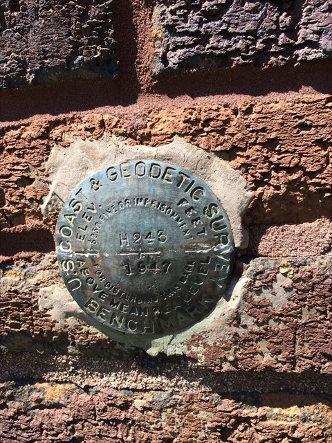 Benchmark in Marion County, Indiana