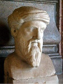 Pythagoras himself.