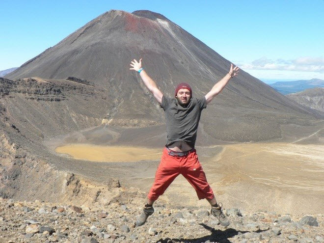 GC24VXZ Ngauruhoe - Mt Doom (Central Plateau) is an Earthcache  featuring the youngest of three volcanoes and is only 2,500 years old!