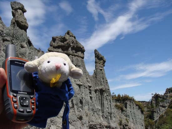 """EarthCache GC19NVM Putangirua Pinnacles was featured as the fictional Dimholt Road, Approach to Paths of the Dead in """"The Return of the King"""""""