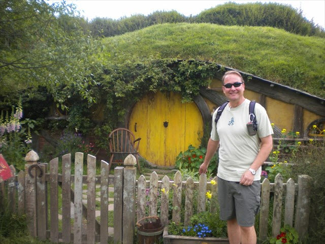GC3VBMT There And Back Again is a simple multi is placed near the location of the filming of scenes in The Shire from both the Lord of the Rings and Hobbit movies.