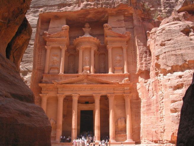 Al Khazneh (the Treasury) at Petra