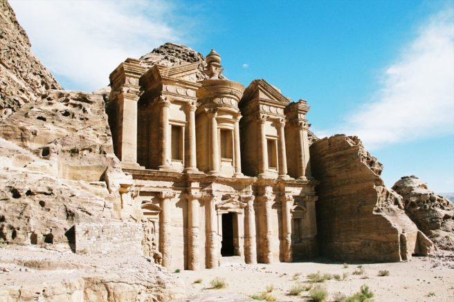 A different view of Petra