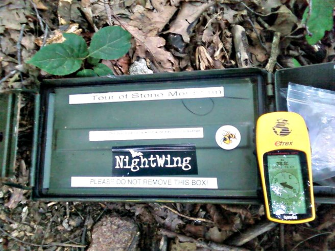 Nice use of the ammo can for the world's first Multi-Cache