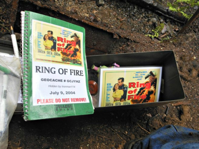 The Ring of Fire geocache