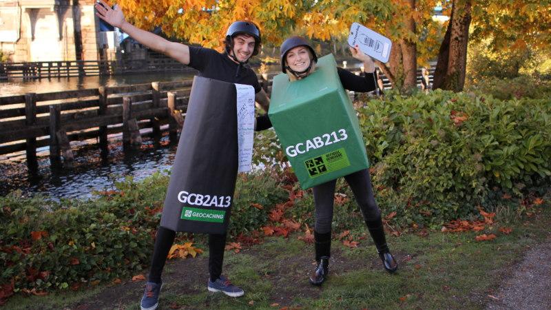 Geocaching Halloween