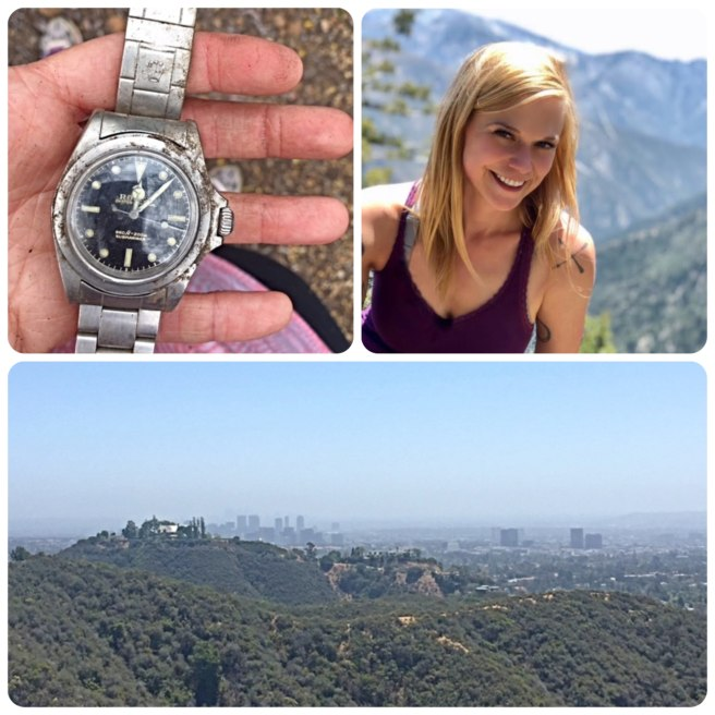A Rolex watch was found in Southern California by a geocacher 20 years after being lost