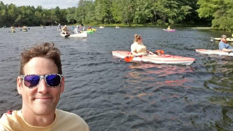 CacheDweeb kayaking