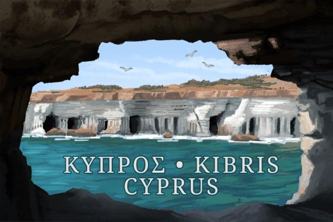 Cyprus Geocaching country souvenir