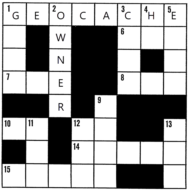 Rätselraten Kreuzworträtsel