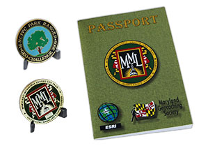 Maryland Geocaching Society Passport