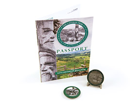 The Cateran Trail Passport and Geocoin